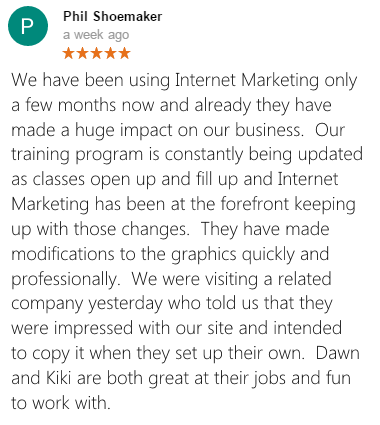 Phil Shoemaker Google+ Review
