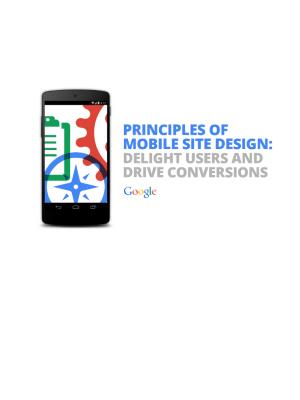 Principles Of Mobile Site Design