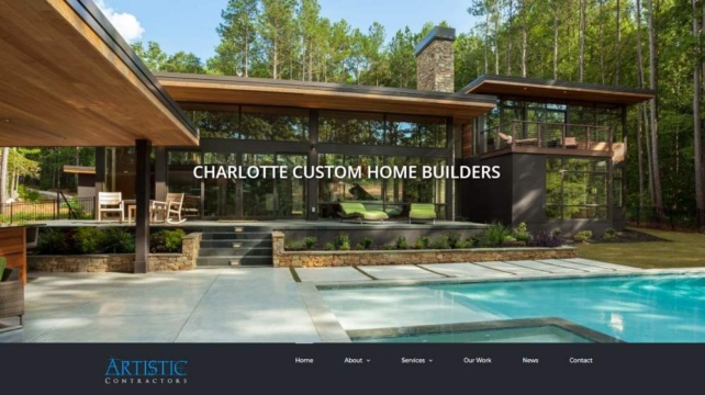 New Website Design - Artistic Contractors