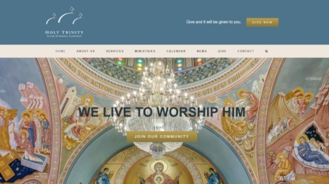 New Website Design - Holy Trinity Greek Orthodox Cathedral