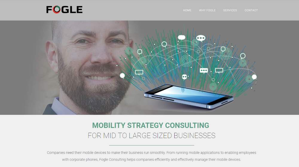 New Website Design - Fogle Consulting, Charlotte NC